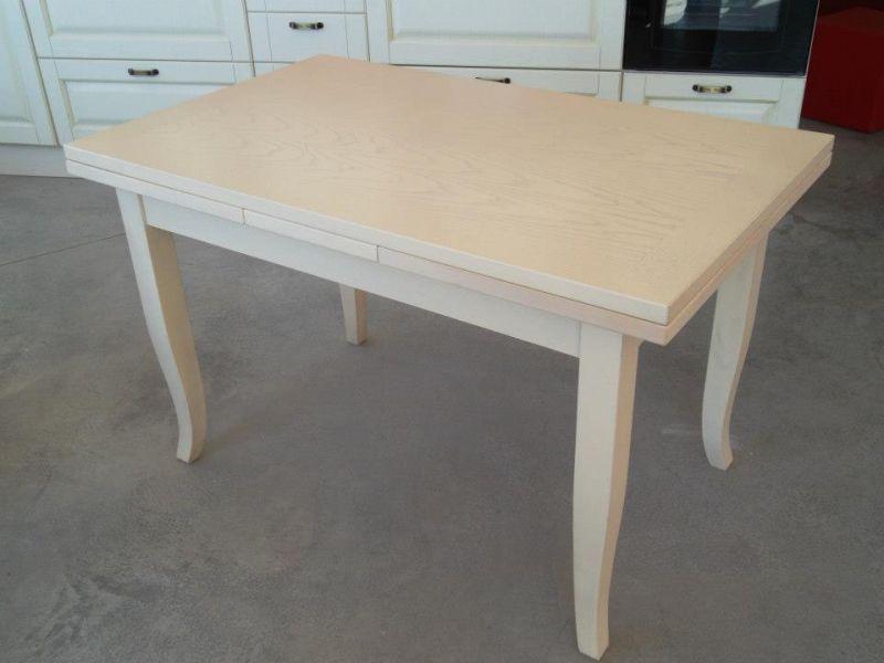 Tavolo In ~ Tavolo da cucina in legno allungabile shabby chic grezzo tavoli