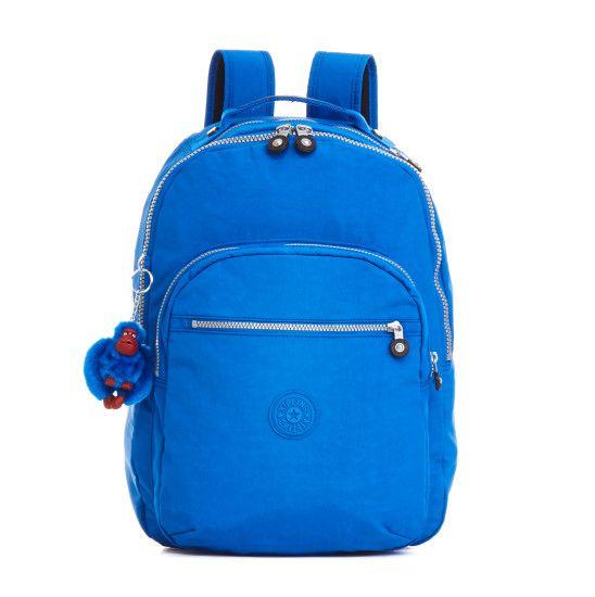 70b8287f5 Seoul Laptop Backpack - French Blue   Kipling   Bolsa / mochila