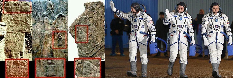 Le Borse Degli Antichi E Moderni Astronauti Astronauta