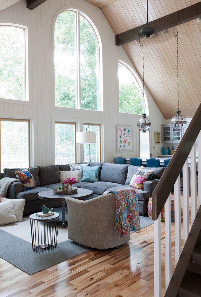 lake house living room | Beth Johnson Interiors