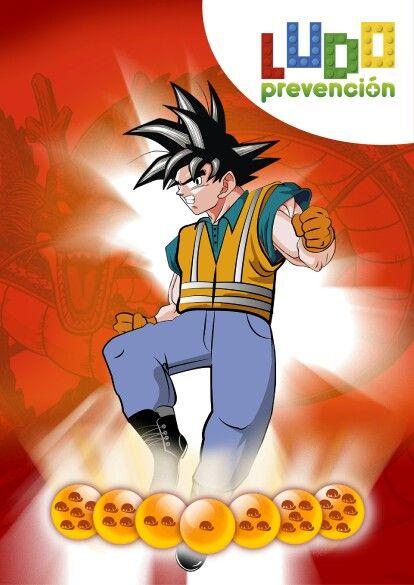 Dragon  Ball aplicado a la seguridad y salud en el trabajo