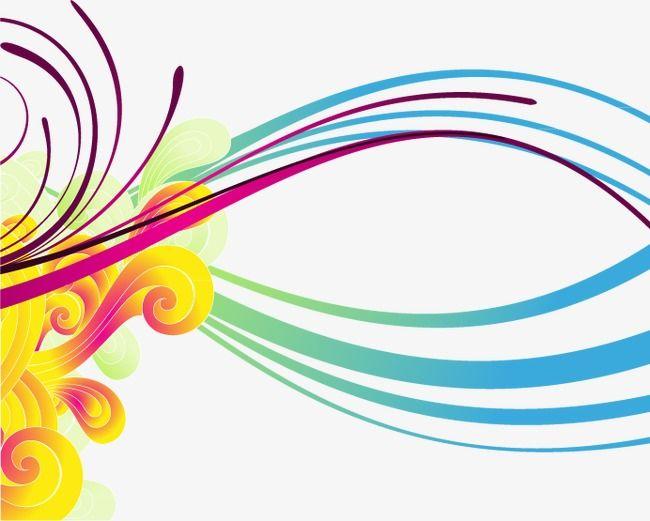 Lineas de colores, Fondo De Tecnología, Línea, Brillante PNG y ...