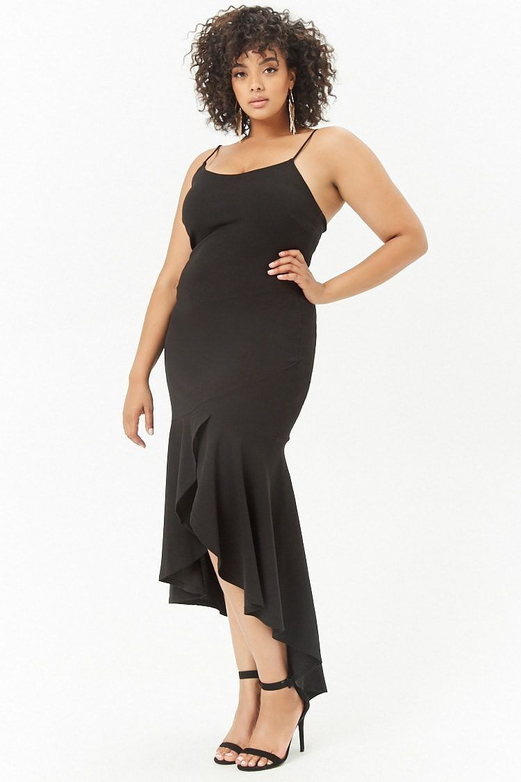 4edd9f71c897b Plus Size Cami High-Low Dress - Prom Dresses - Dresses - All Clothing -  Clothing
