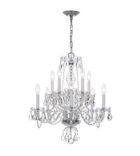Crystorama CHCLS Traditional Crystal Light Swarovski - Strass chandelier crystals