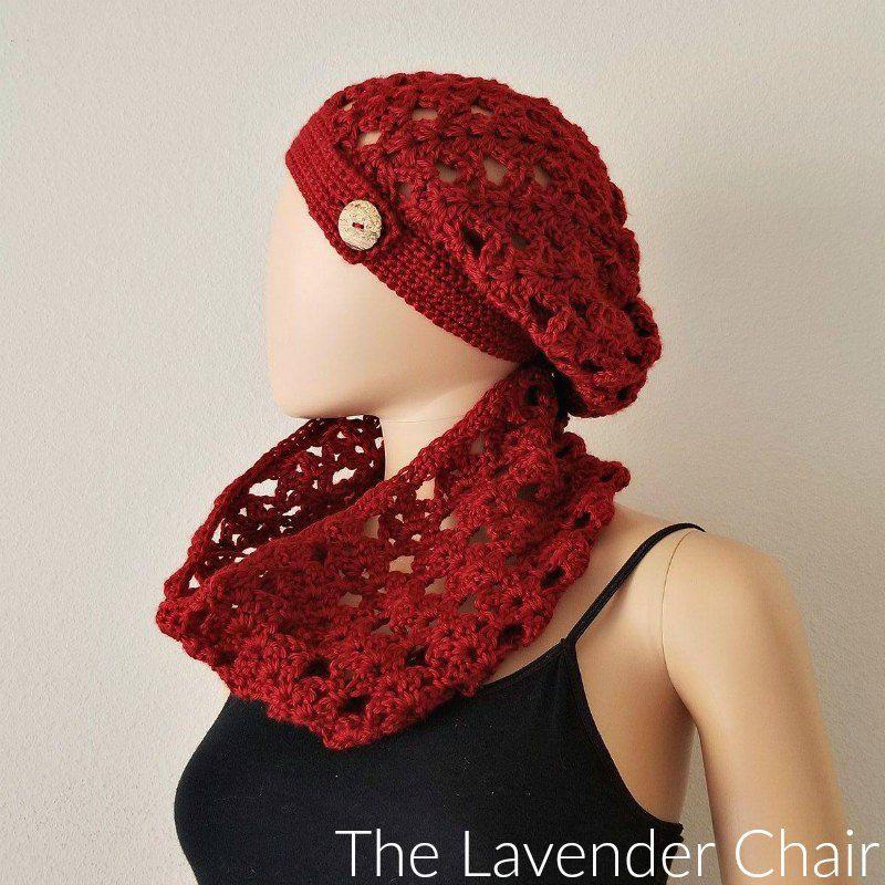 Climbing Shells Slouchy Beanie Crochet Pattern   Cre8tion Crochet ...