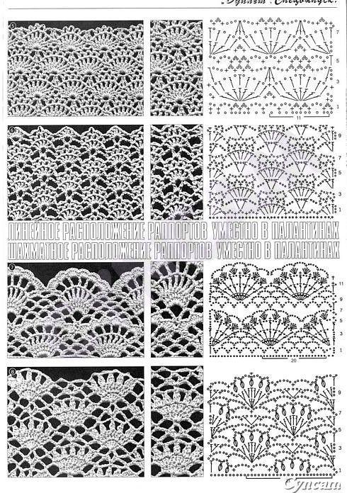 SOLO PUNTOS: Crochet puntos calados | Tejidos | Pinterest | Puntos ...
