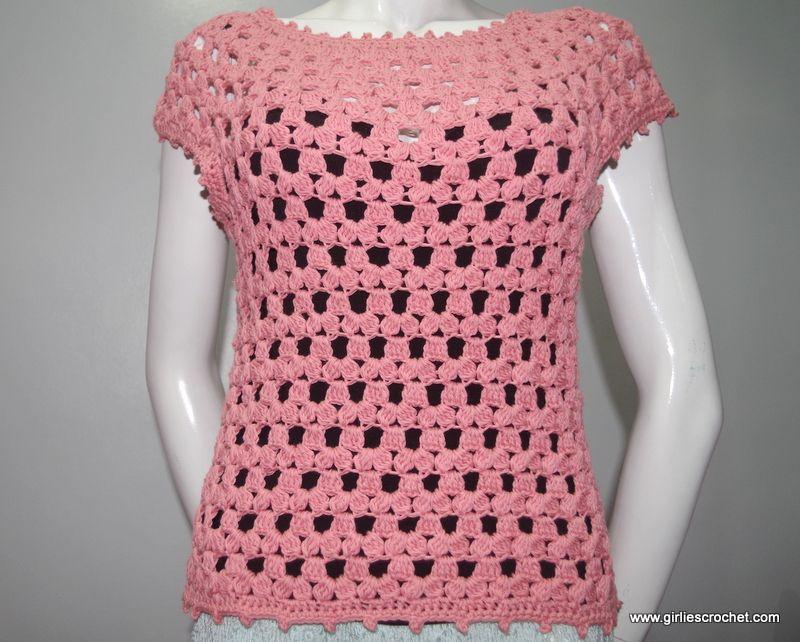 Lea Blouse | Crochet, Free crochet and Tutorials