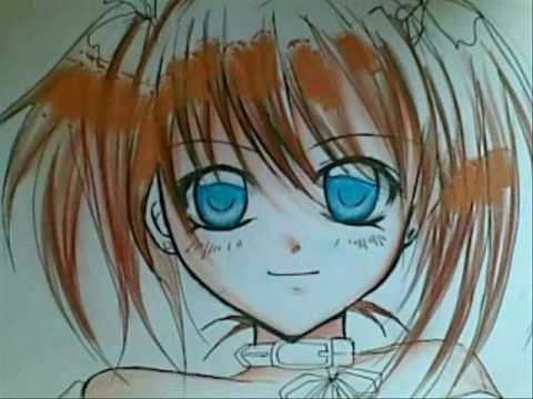 Рисуем личико аниме...Видео.. Обсуждение на LiveInternet ...