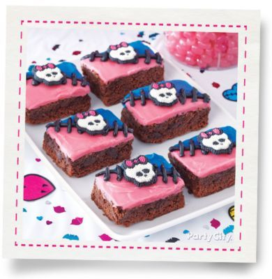 Monster High Brownies How To Party City Monster High