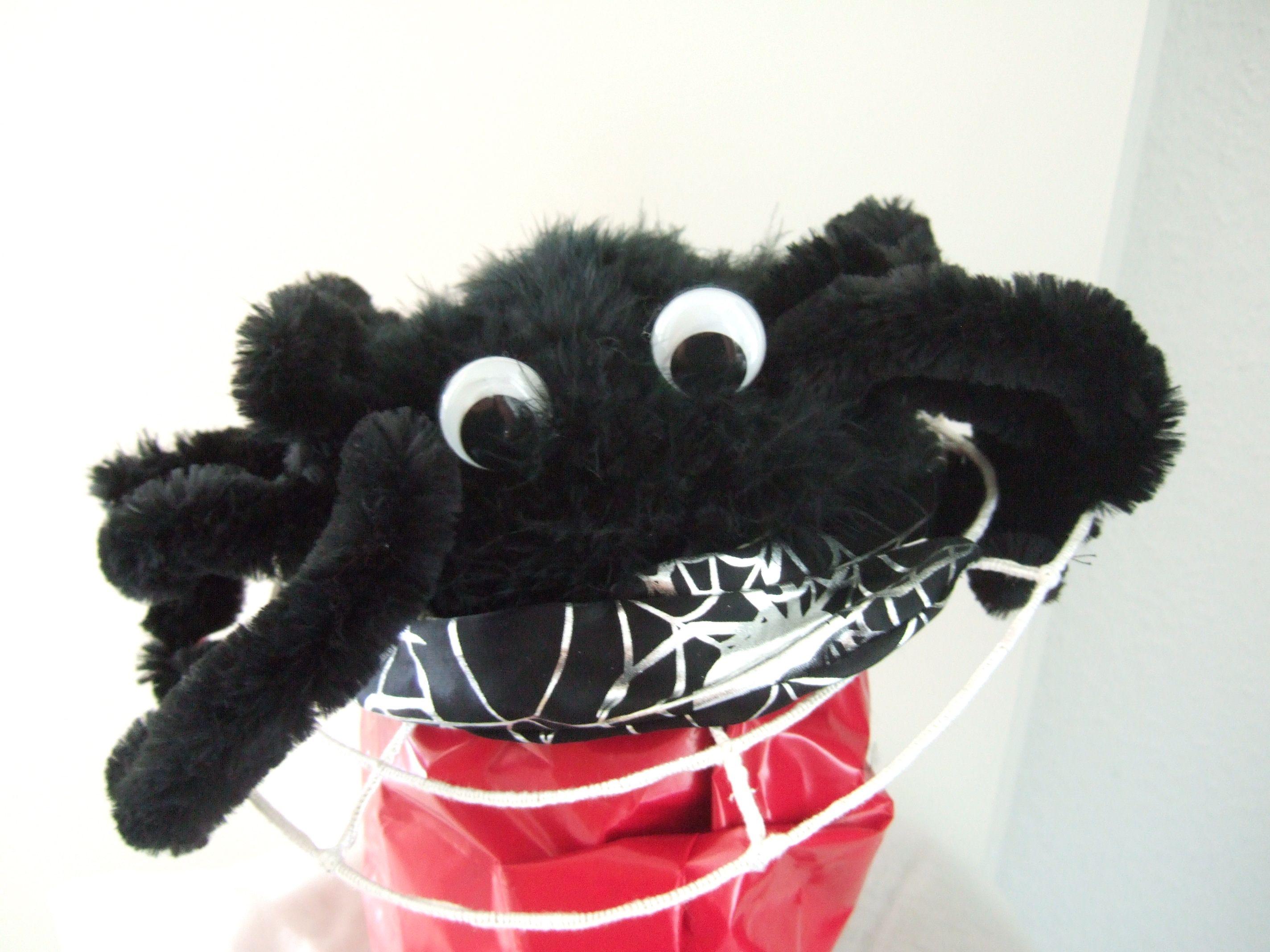 Modell: kleine Spinne