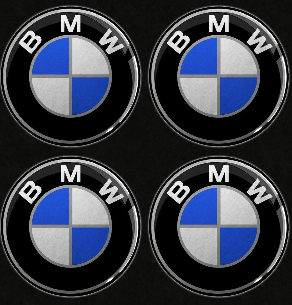 Sponsored Ebay 4pcs Bmw Emblem Logo Badge Hub Wheel Rim Center