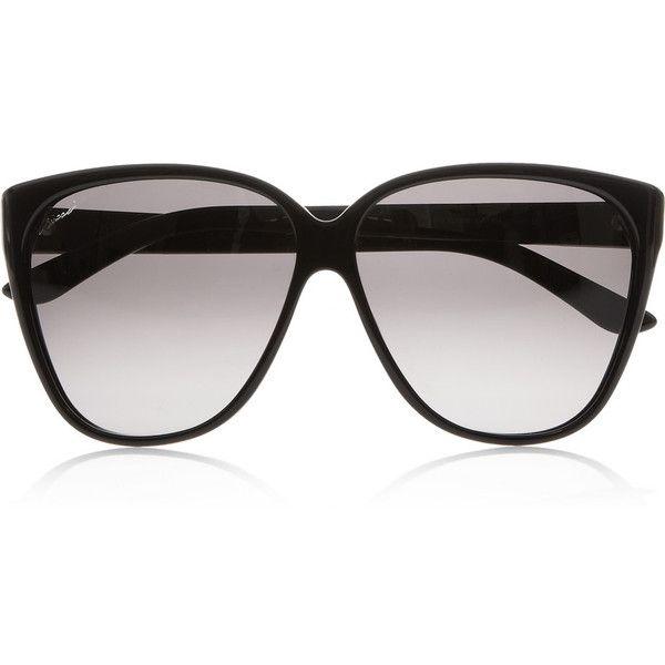 8a3d413f845cc Gucci D-frame acetate sunglasses found on Polyvore