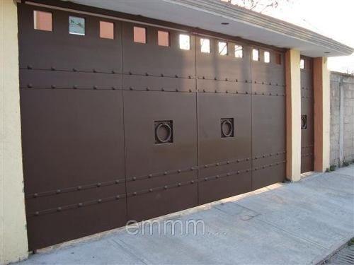 Porton herreria minimalista buscar con google puertas - Puertas automaticas para cocheras ...