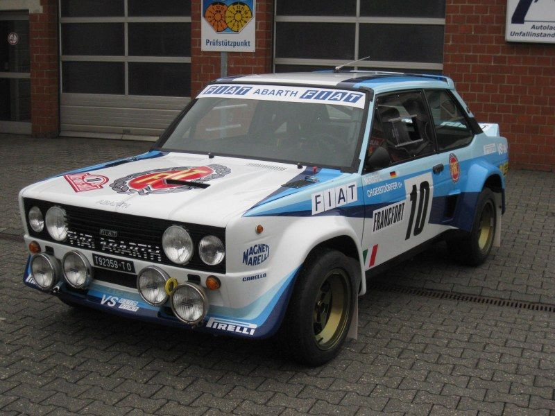 Markku Alen Fiat 131 Abarth 1978 Portugal With Images Auto Letit