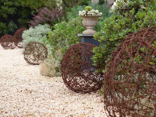 garden balls Google Search Roseville LMGK Pinterest
