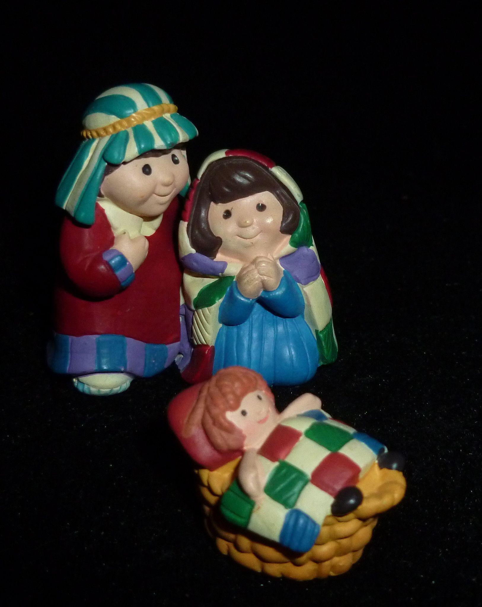 Hallmark Merry Miniature Nativity Set of Figurines