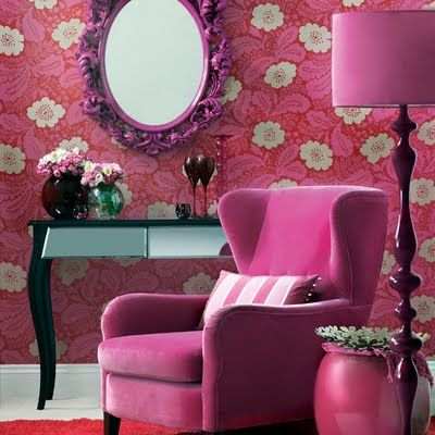 Are Pink and Floral making a comeback in Home Decor?