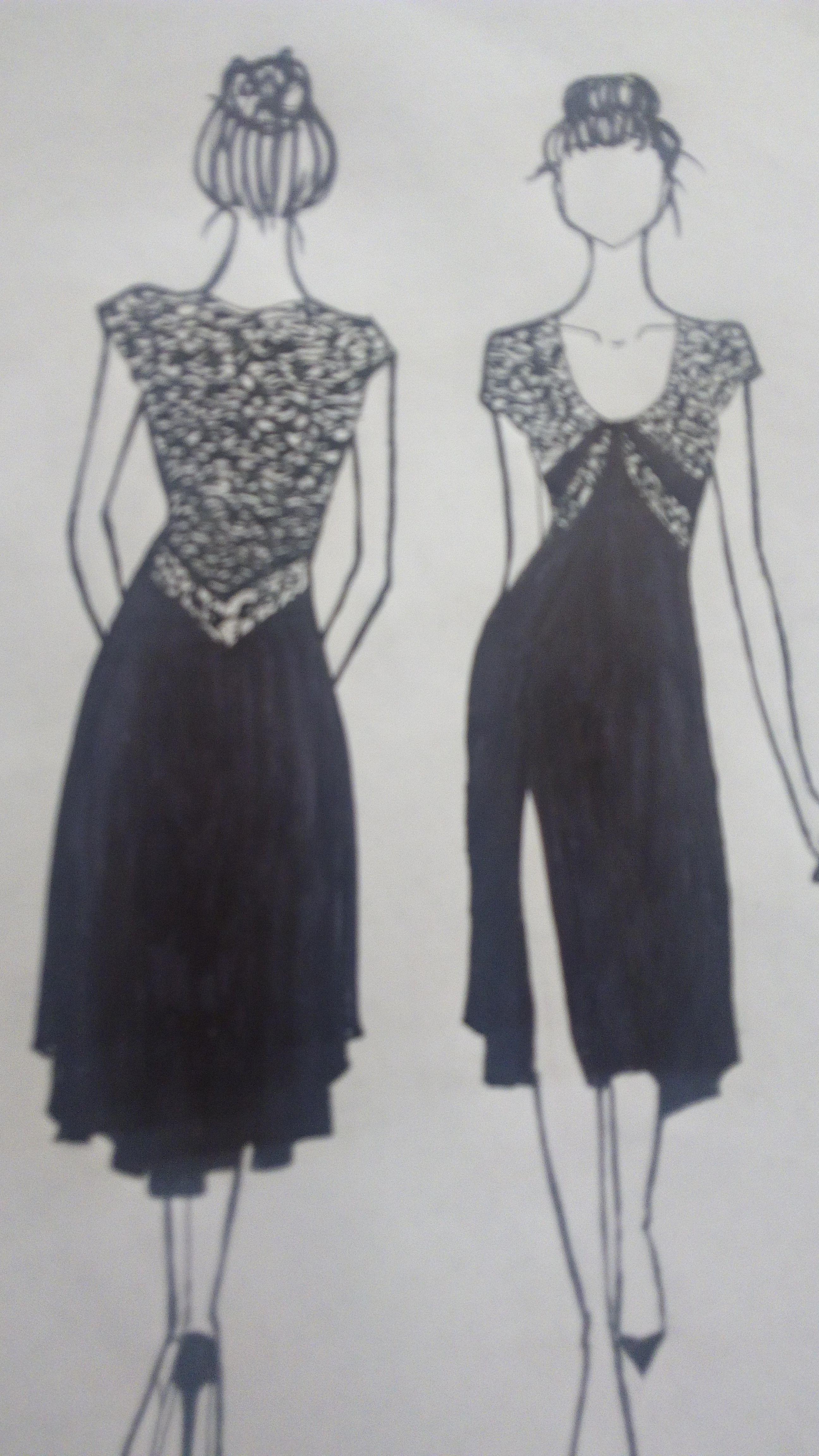 04dd90c1b33 V Argentine Tango dress