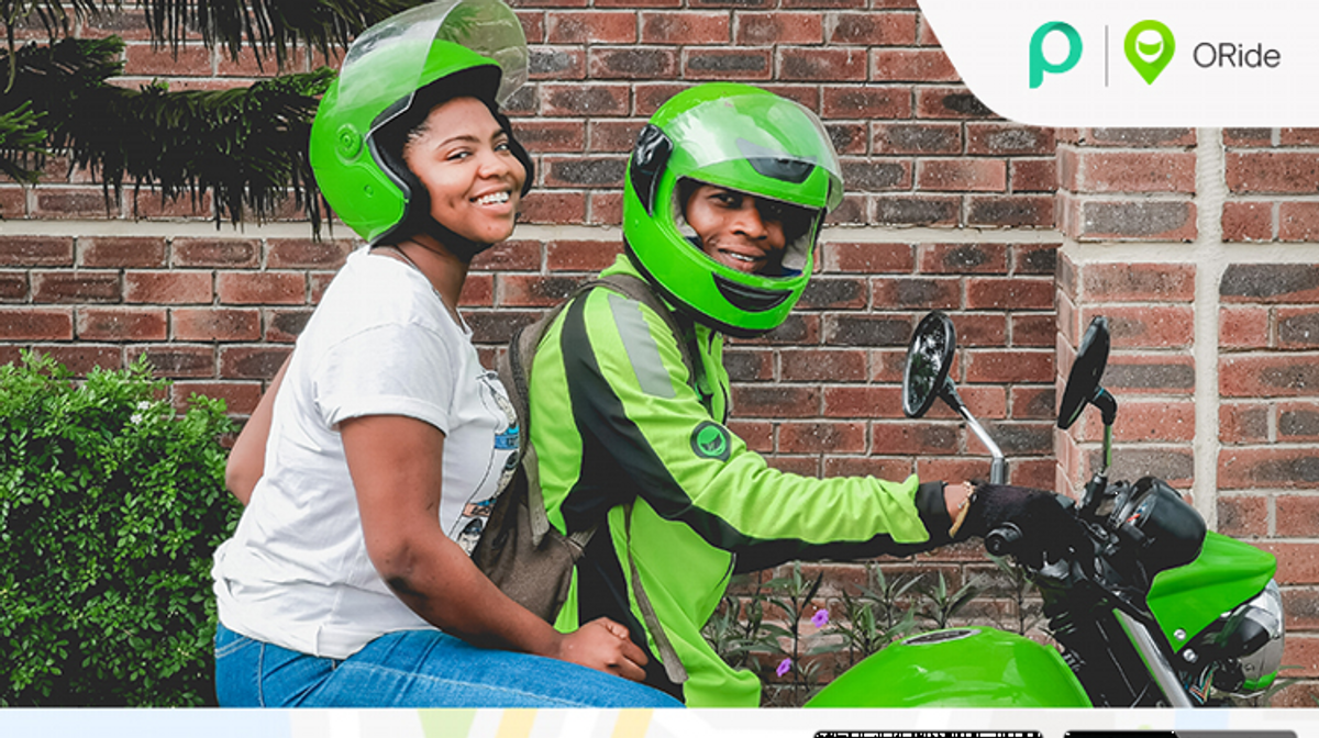 ORide launches in Nigeria Nigeria, Product launch