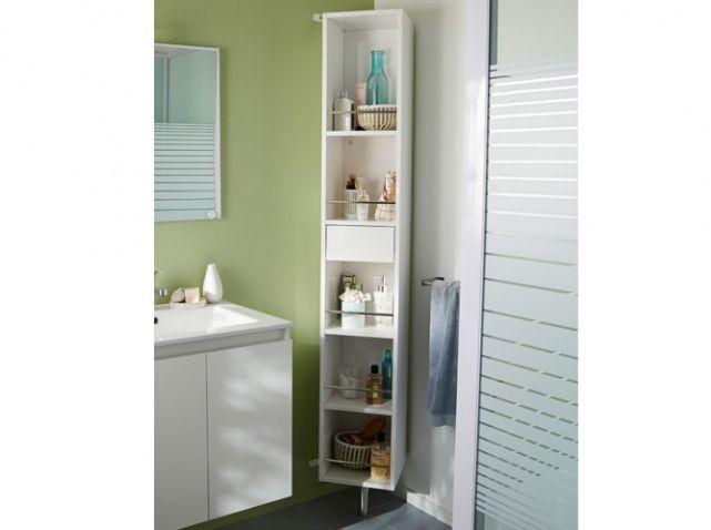Petit meuble salle de bains notre sélection Elle Décoration