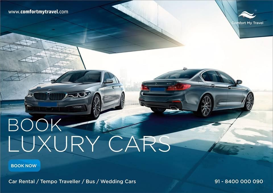 Book Luxury Cars for Local and outstation Tours. Rent a