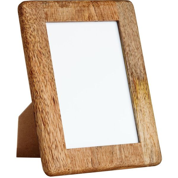 H&M Wooden Photo Frame $9.99 featuring polyvore, home, home decor ...