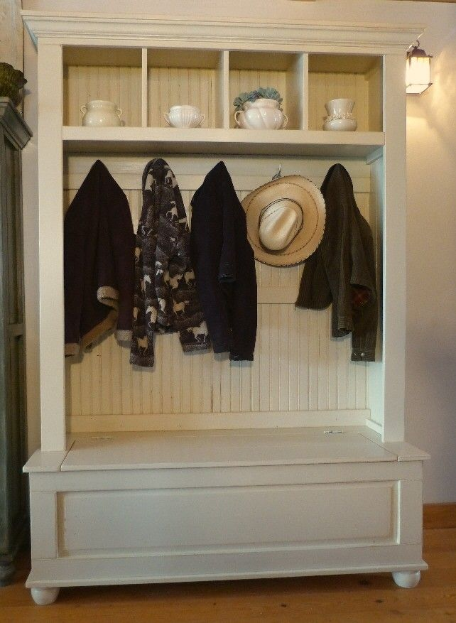 Lovely Hall Tree Closet