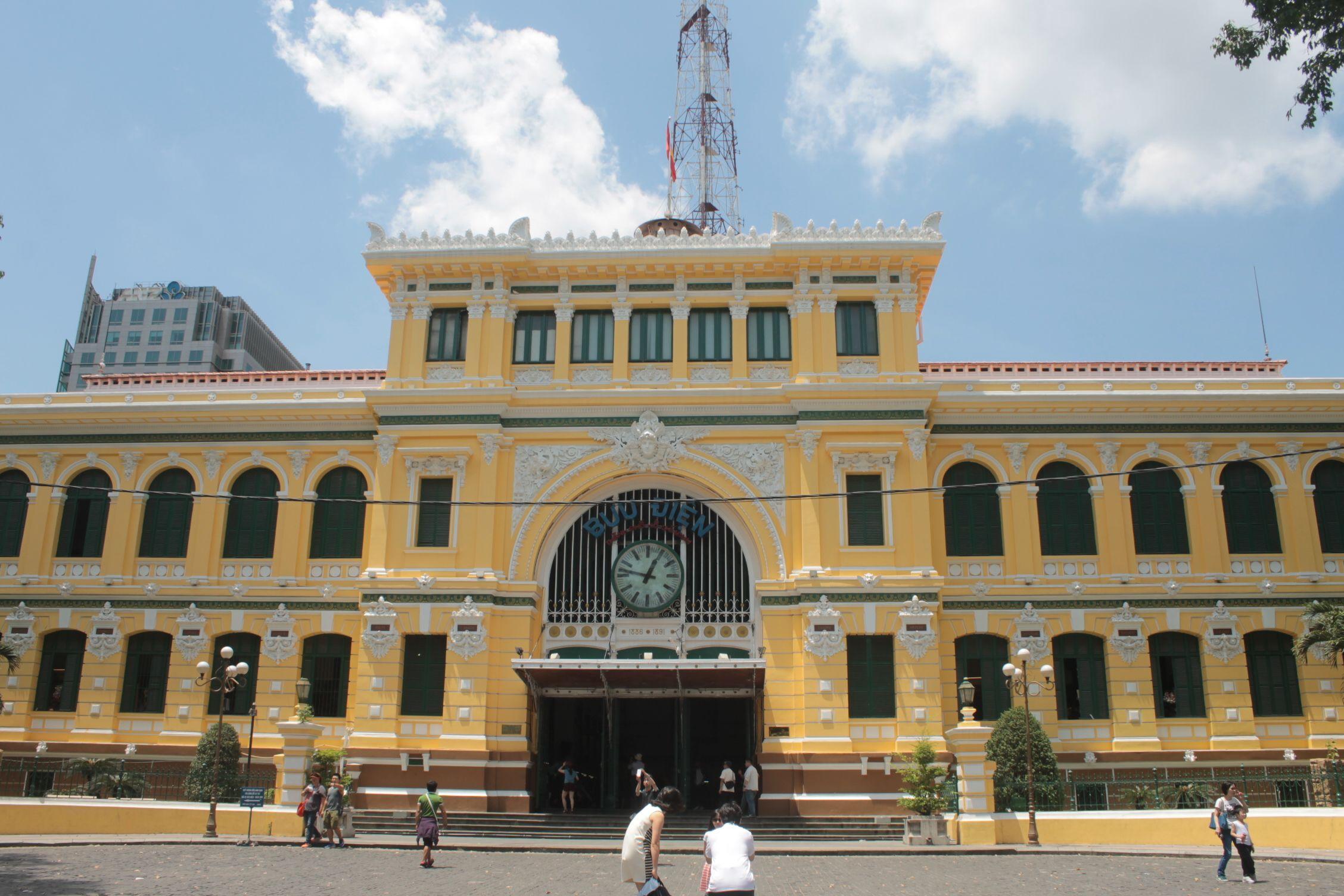 Oficina de correos de Ho Chi Min (Saigon)