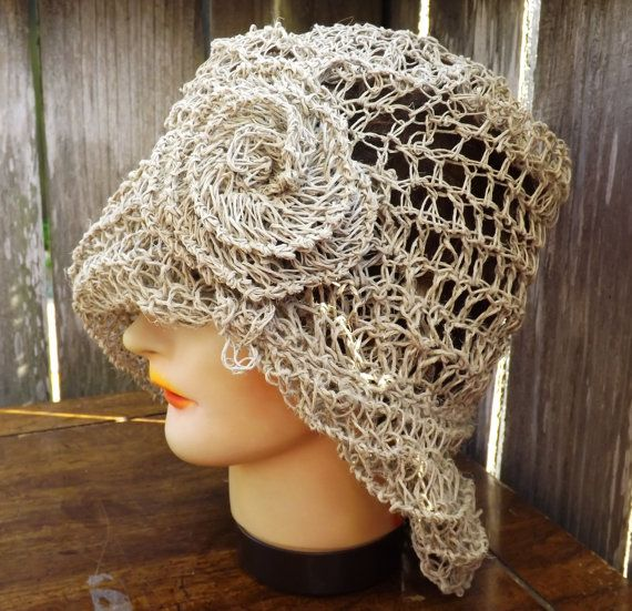 This is an instant download PDF womens crochet hat pattern. Learn ...