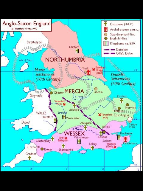 AS England map Northumbria