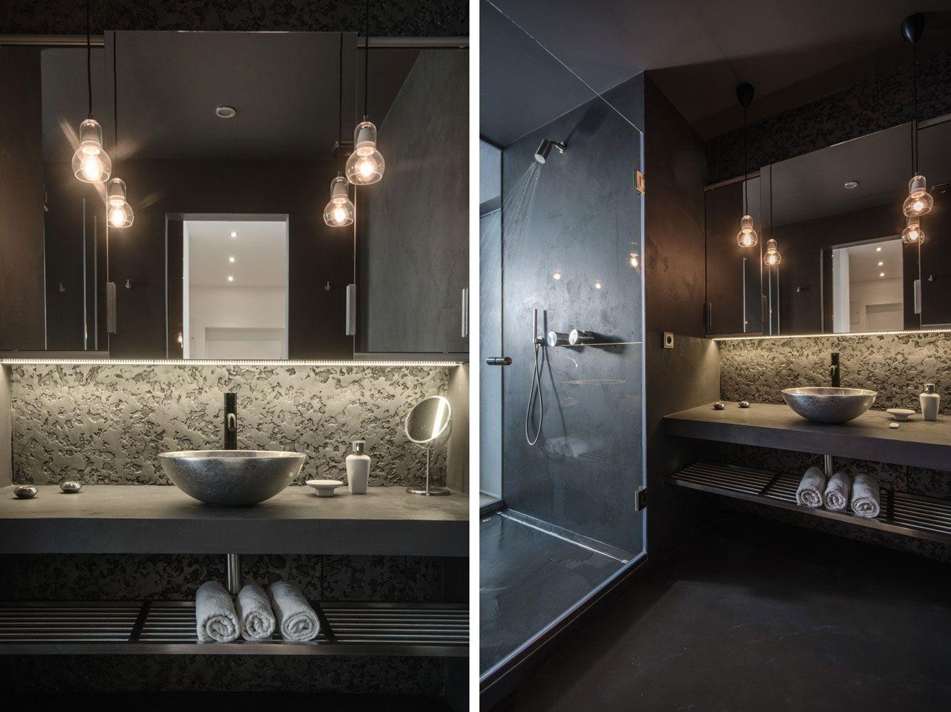 grey-loft-11 | Bathrooms | Pinterest | Lofts and Gray