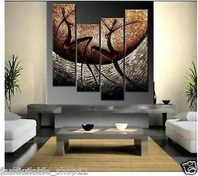 Hot! MODERN HUGE ABSTRACT WALL ORNAMENTS CANVAS OIL PAINTING(no ...