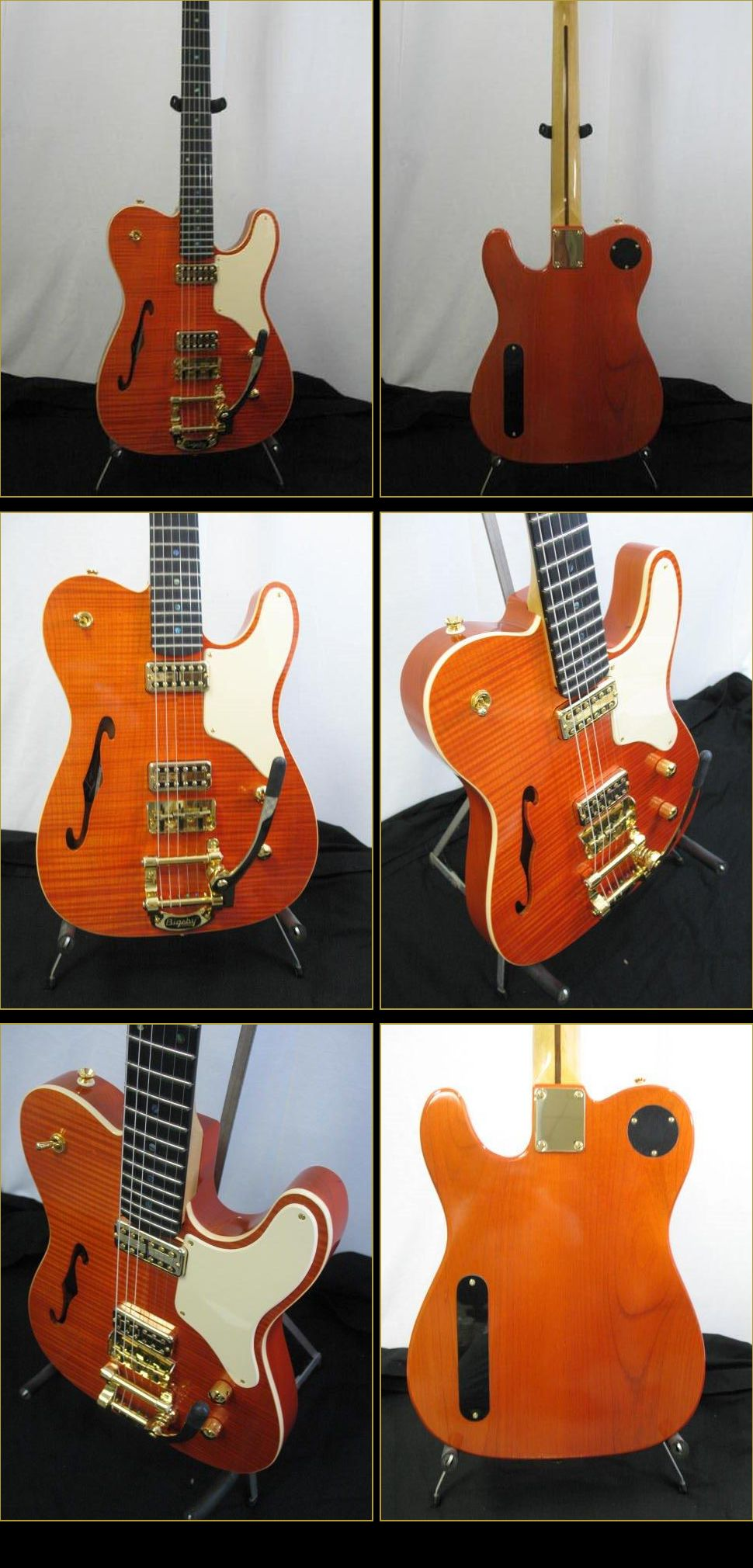 Gretsch O Caster S N Electric Guitar Logan Custom Guitars