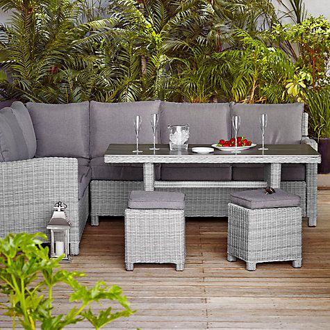 buy john lewis palma by kettler 8 seater outdoor lounge set online at johnlewis