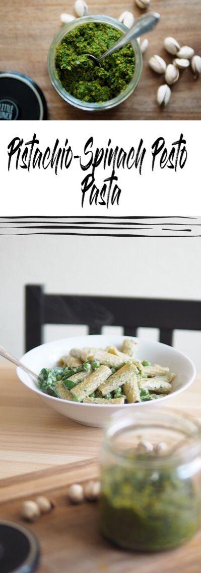Vegan Pistachio Spinach Pesto