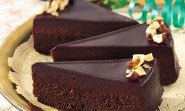 Resep Chocolate Glaze Ganache Siram Oleh Ria Misti Hein Resep Cokelat Kue Coklat