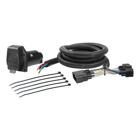 Custom Wiring Harness, Multicolor | Products in 2019 ... on trailer hitch harness, trailer mounting brackets, trailer generator, trailer fuses, trailer brakes, trailer plugs,