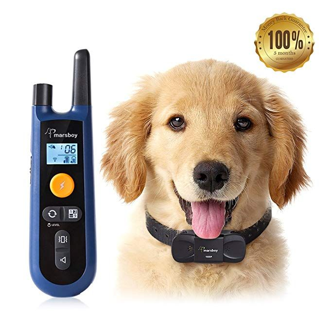 Marsboy [Upgraded] Dog Training Collar, Rechargeable and