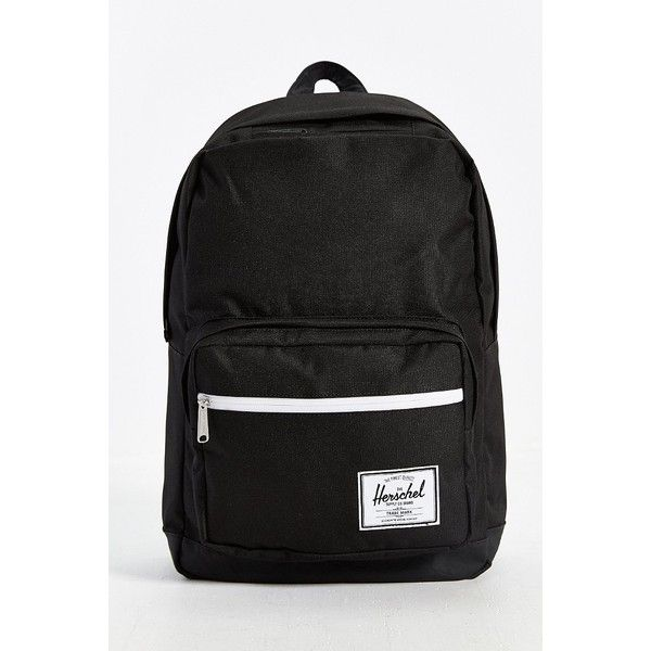Herschel Supply Co. Pop Quiz Tonal Backpack ($70) ❤ liked on Polyvore featuring bags, backpacks, black multi, black mesh backpack, waterproof backpack, strap backpack, waterproof laptop backpack and woven backpack
