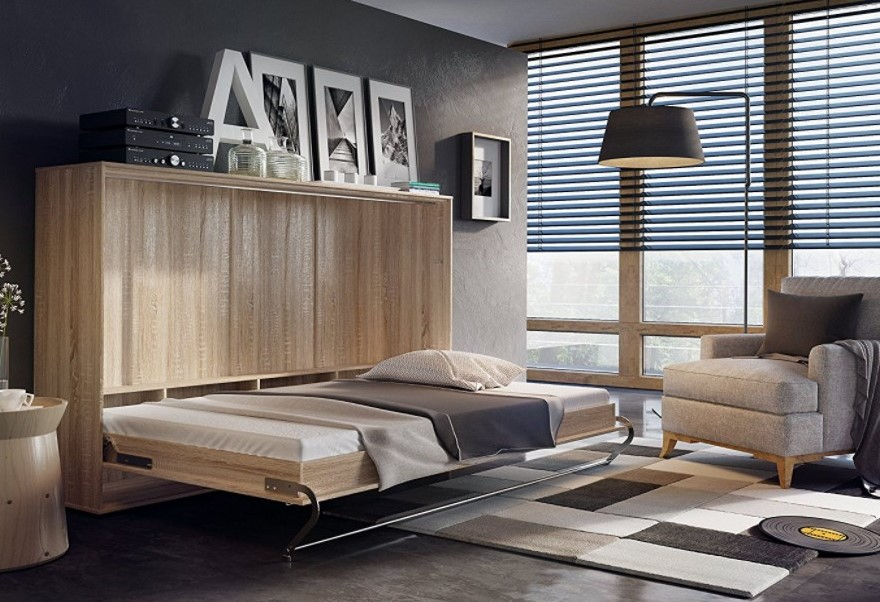 MILANO Wall Bed in 2020 Horizontal murphy