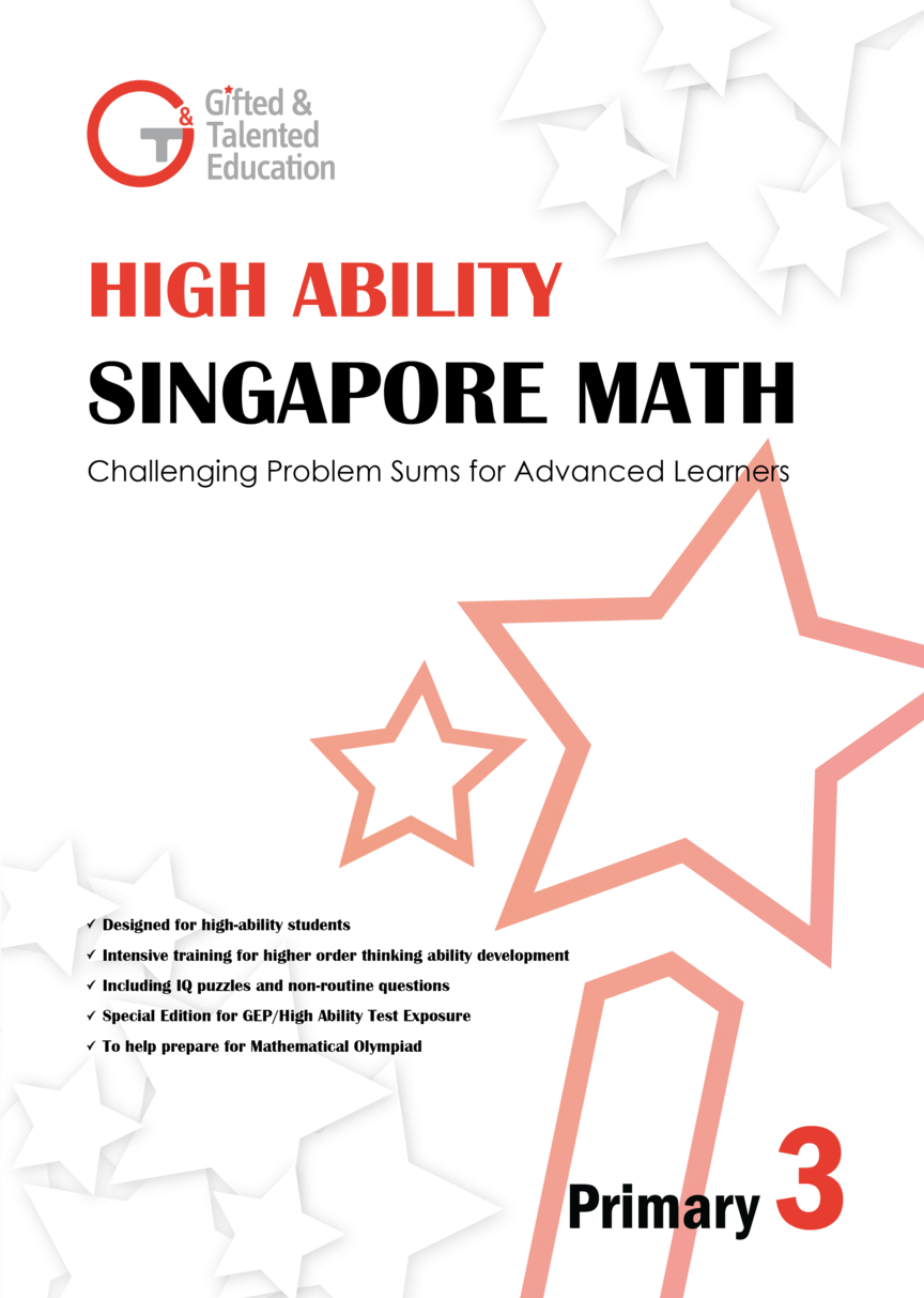High Ability Singapore Math Primary 3 Singapore Math Primary