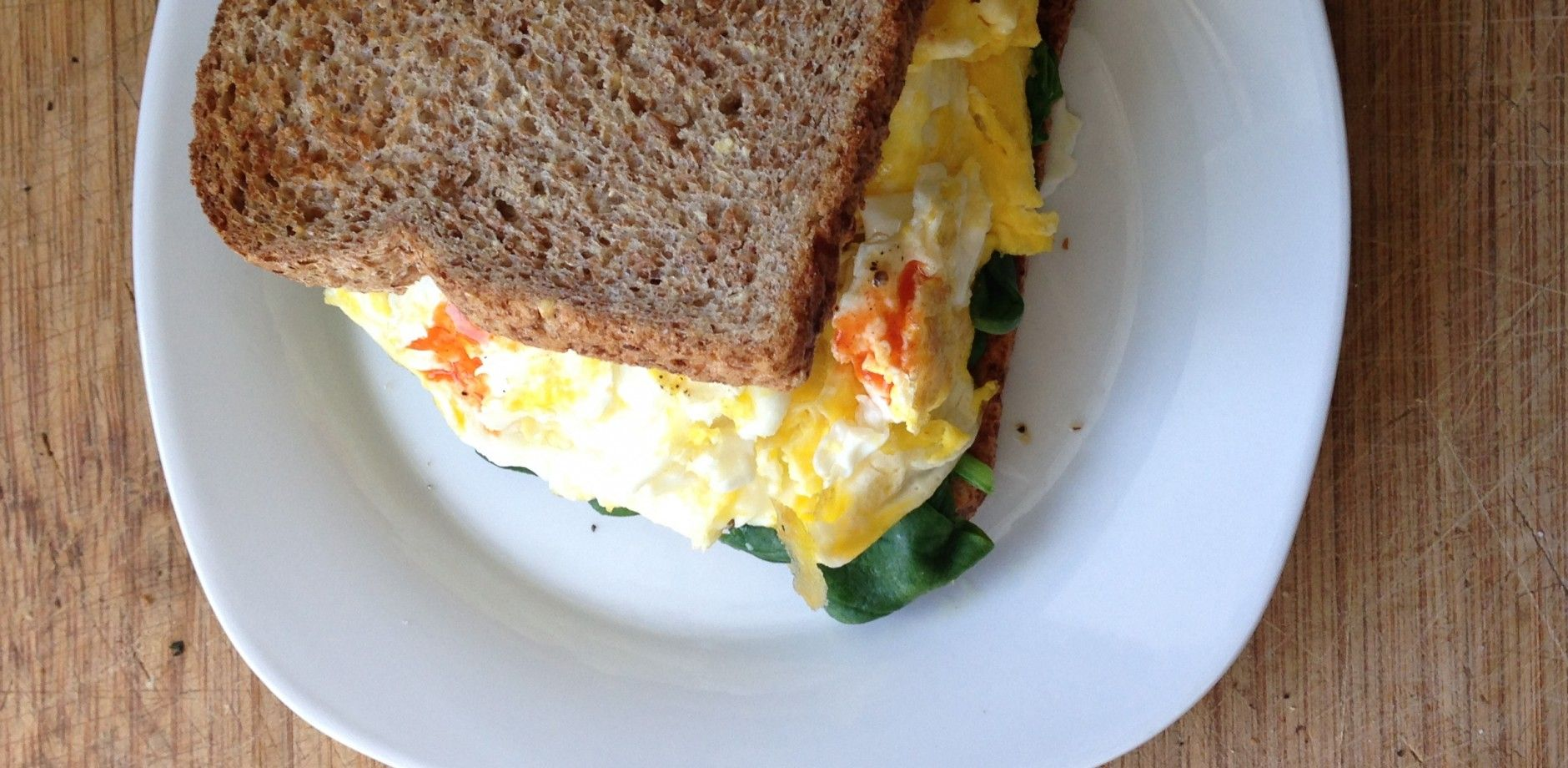 Recipe: Sprouted Egg Spinach Breakfast Sandwich | Jessie Fitness, Inc.