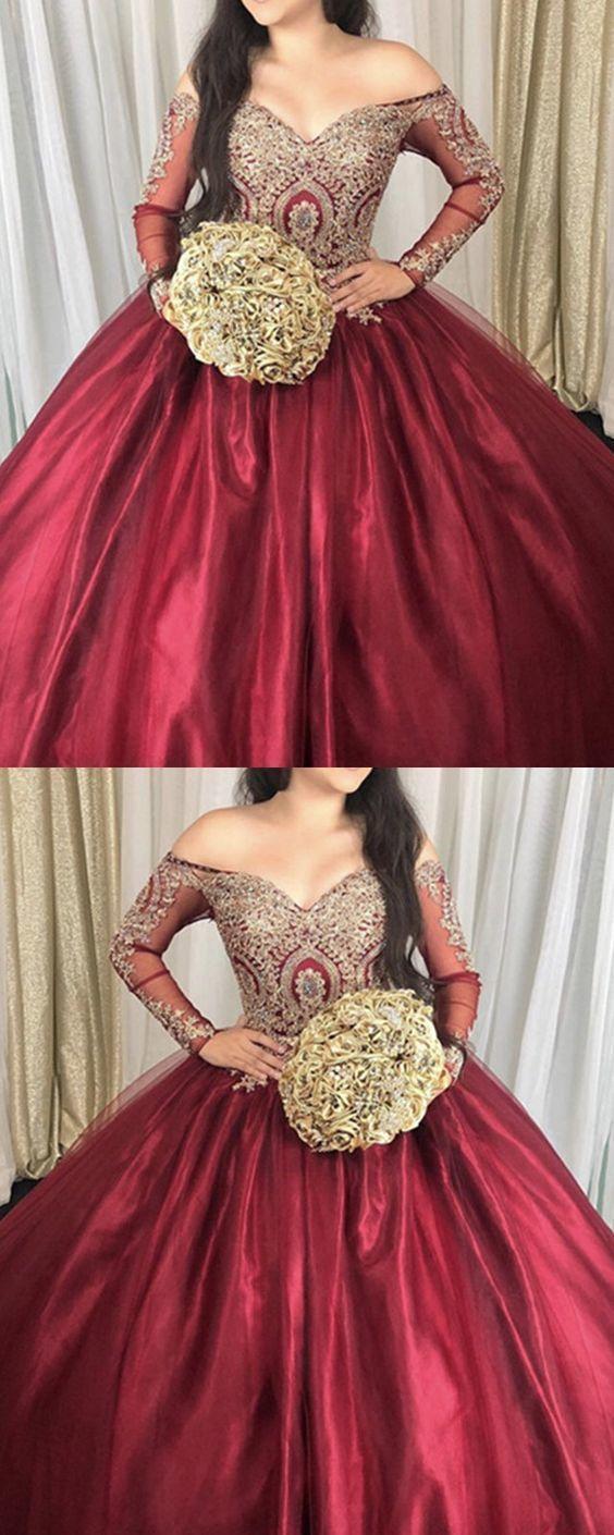 15 dress Quinceanera burgundy ideas