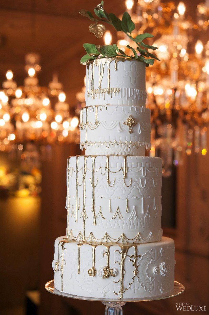 Queen Midas - WedLuxe Magazine | Cool wedding cakes ...