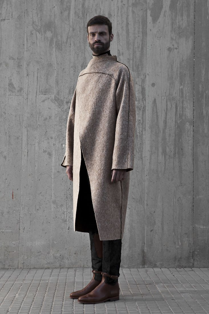 Etxeberria Explores Texture for their Fall/Winter 2013 Collection