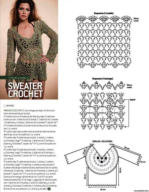 Famoso Crochet Encabeza Patrón Galería - Manta de Tejer Patrón de ...