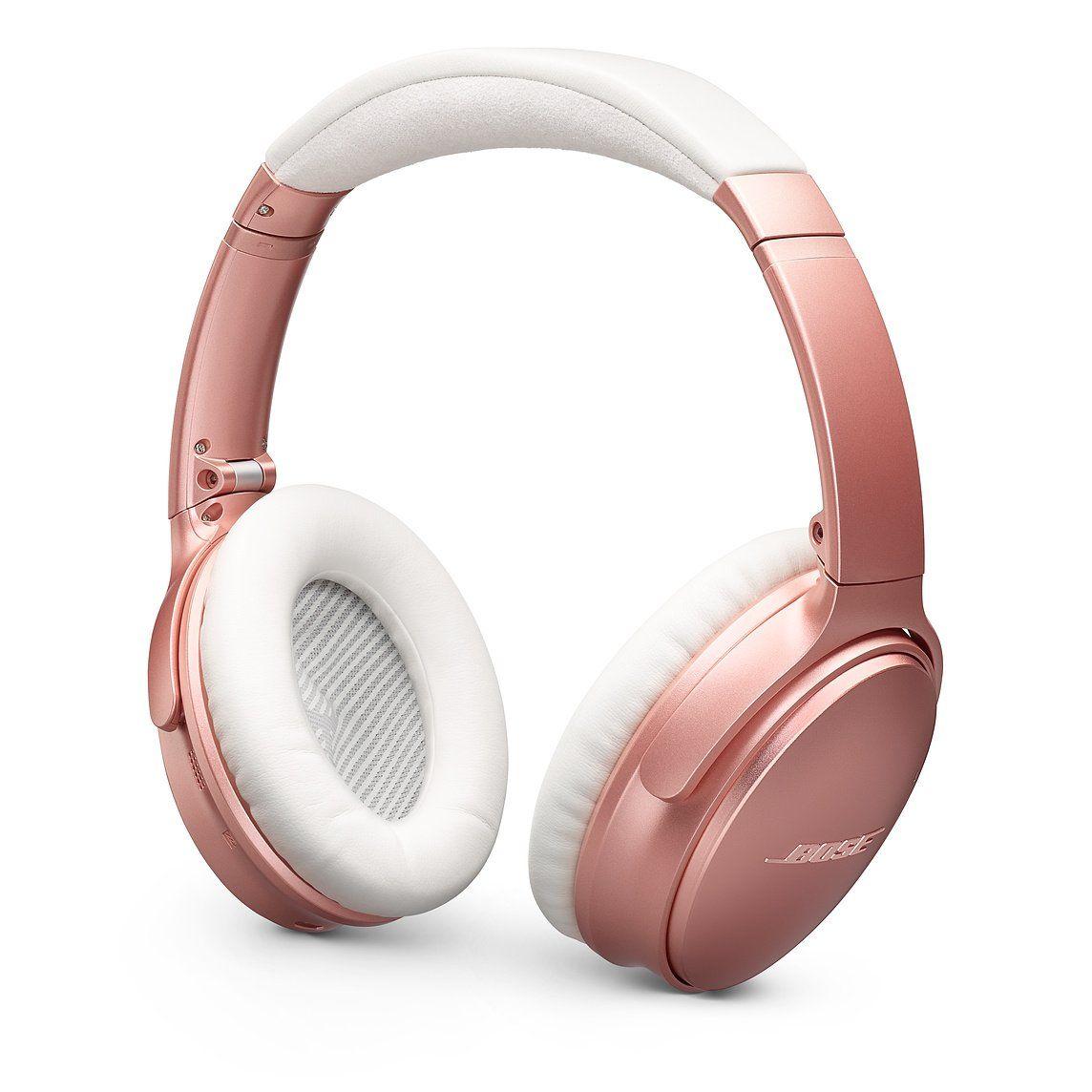 Bose Quietcomfort 35 Wireless Headphones Ii Rose Gold Wireless Headphones Headphones Noise Cancelling