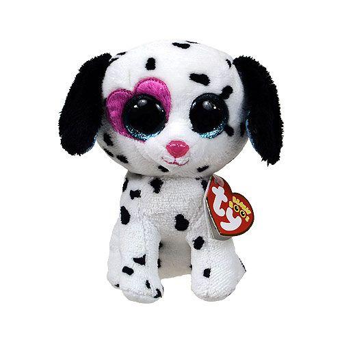 98a97e49c42 TY Beanie Boos - CHLOE the Dalmatian with Heart Eye (Glitter Eyes) (Regular  Size - 6 inch)  Limited