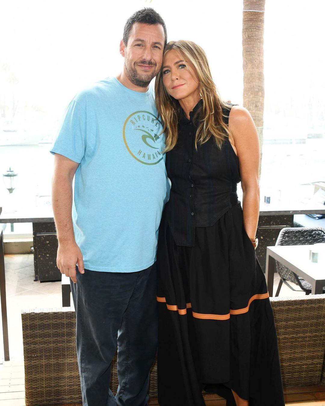 Jennifer Aniston and Adam Sandler's new movie is breaking