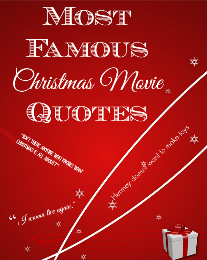 Most Famous Christmas Movie Quotes | Famous christmas movies and Movie